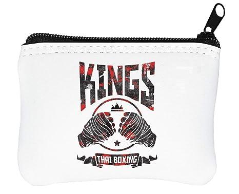 King of Muay Thai Logo Billetera con Cremallera Monedero ...