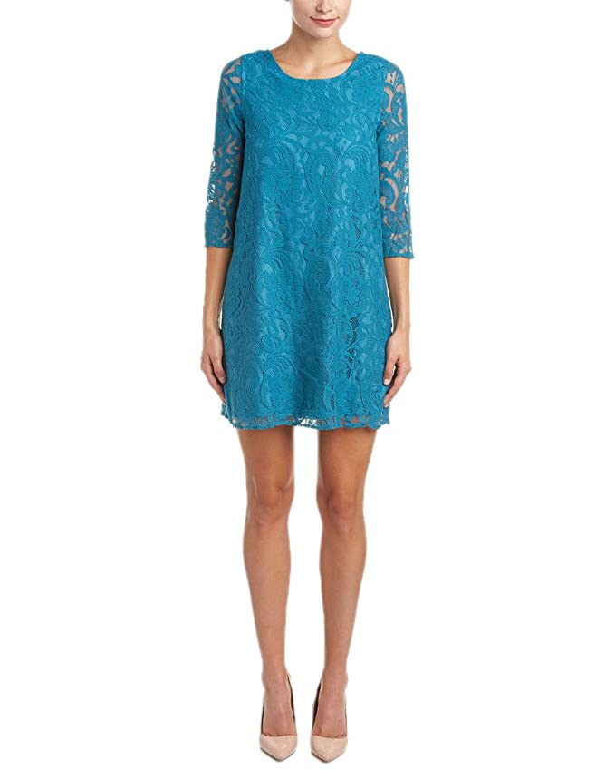 Jack BB Dakota Women\'s Mckale Lace Shift Dress at Amazon Women\'s ...