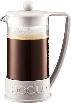 Bodum Brazil French Press Coffee Maker, 1L, Off White