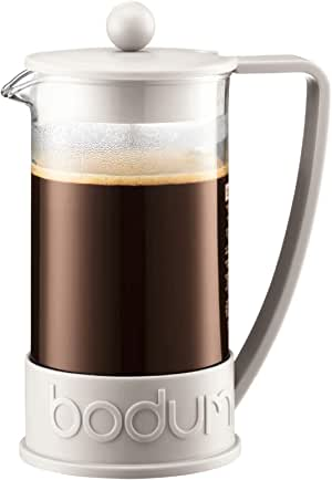 Bodum Coffee Maker Brazil French Press, Off White, 10938-913