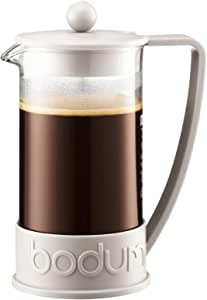 Bodum Coffee Maker Brazil French Press, Off White, 10938-913