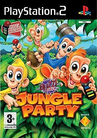 Sony Buzz! Locura en la jungla - PS2 PlayStation 2 vídeo - Juego ...