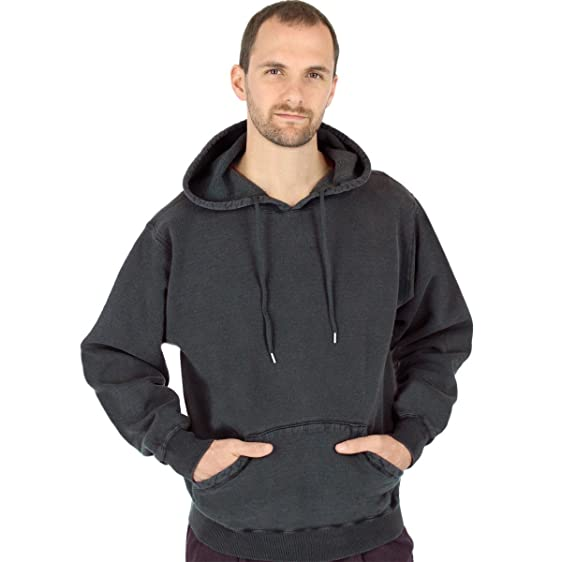 Amazon.com: CottonMill Men's 100% Cotton Pullover 20oz Heavy ...