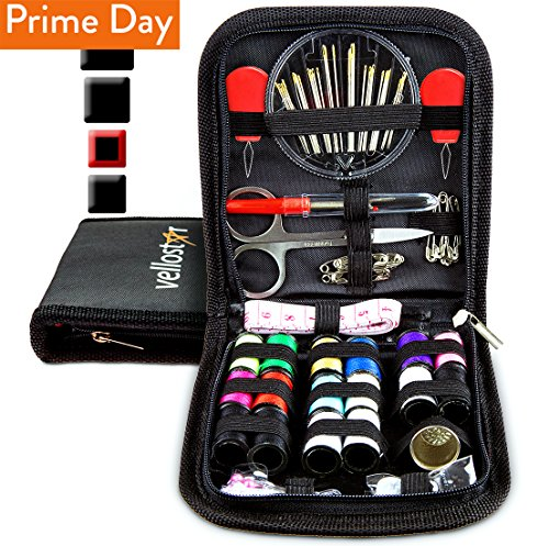 SEWING KIT - Tackle Any Emergency Clothing Repairs w/This Highly Rated Mini Mending Sew Storage Set...