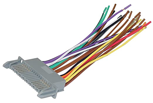 Amazon com scosche reverse wiring harness for 2000 up gm ribbon scosche reverse wiring harness for 2000 up gm ribbon, scosche radio wiring harness for 2000-up gm ribbon style harness