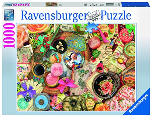 Ravensburger Vintage Collage 1000 Piece Jigsaw Puzzle for Adults – Every Piece is Unique, Softclick Technology Means Pieces Fit Together Perfectly