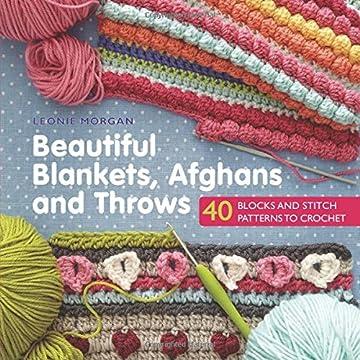 Leisure Arts Aran Afghans To Crochet Bonnie Barker Amazoncouk