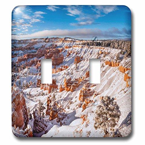 Bryce Canyon Amphitheater (3dRose Danita Delimont - Bryce Canyon - Utah, Bryce Canyon National Park. Winter, Bryce Canyon Amphitheater - Light Switch Covers - double toggle switch (lsp_251481_2))