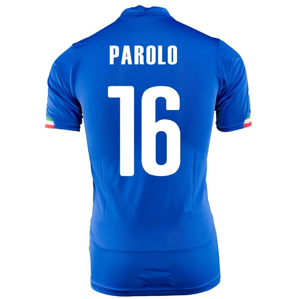 PUMA PAROLO #16 ITALY HOME JERSEY WORLD CUP 2014/サッカーユニフォーム イタリア代表 レプリカホーム用 ワールドカップ2014 背番号16 パローロ B00JKUKMVSM