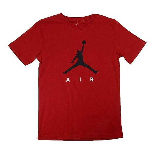 9d54a23baed6c Amazon.com: Jordan Big Boys' Jumpman Air Graphic T-Shirt: Sports & Outdoors