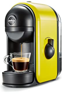 Lavazza Minù Independiente Manual Máquina de café en cápsulas 0.5L Amarillo - Cafetera (Independiente