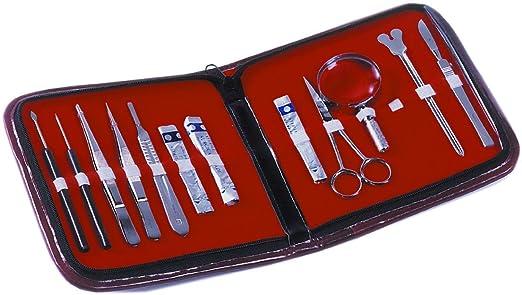 JP SELECTA 1001365 Kit Estuche de disección: Amazon.es: Industria, empresas y ciencia