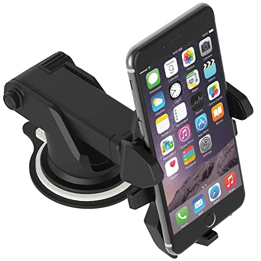 Amazon.com: Car Windshield Mount Holder Stand Bracket for Cell Phone iPhone GPS Devices Navigation Soporte para Celulares Coche: GPS & Navigation