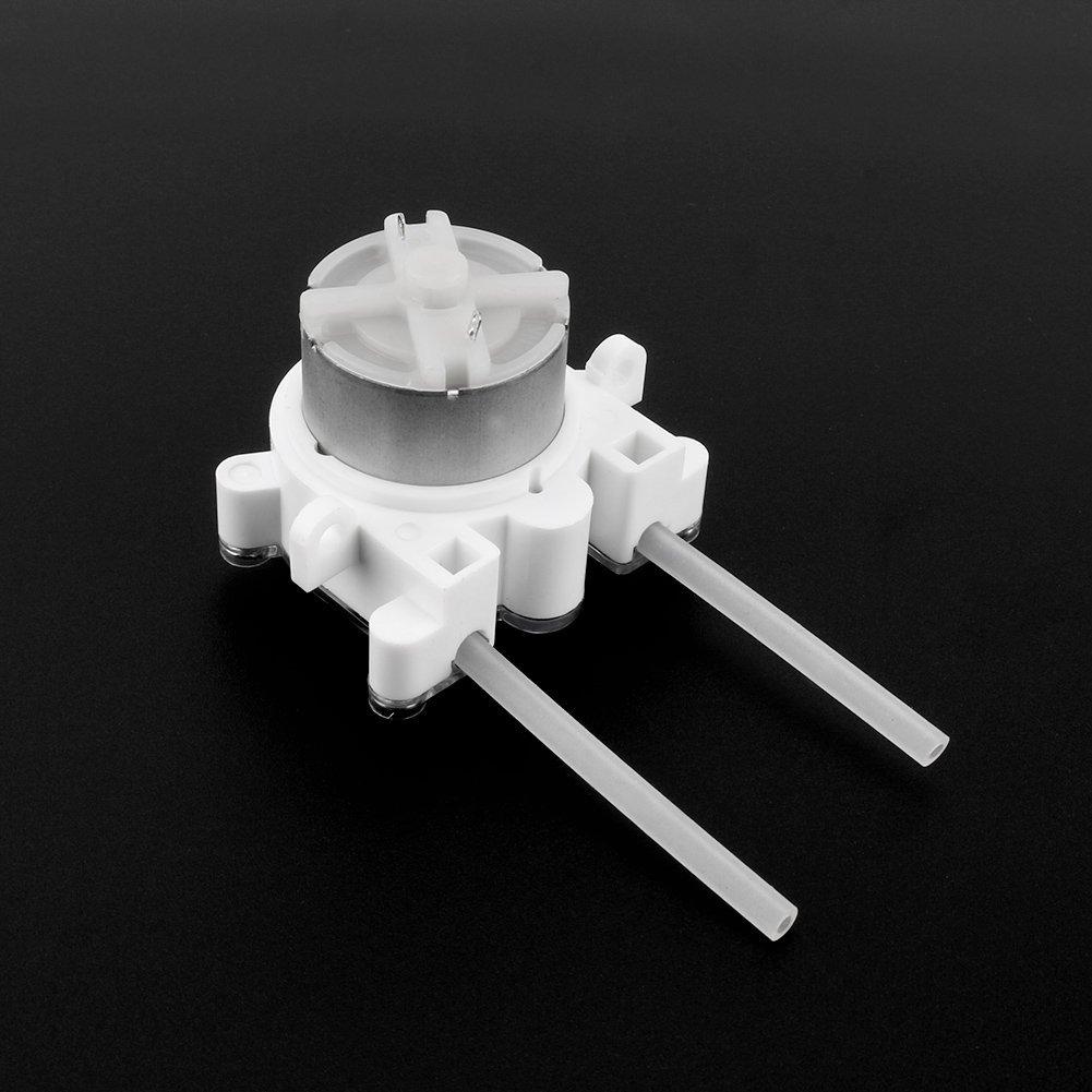6V CC Bomba Dosificadora Bricolaje Bomba Dosificadora Perist/áltica L/íquidos Bomba Dosificadora Para Acuarios Productos Qu/ímicos