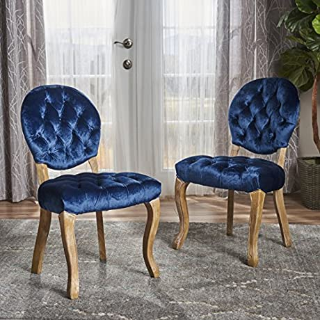 Bushwood Tufted Velvet Dining Chairs Elegant Dining Room Furniture With Victorian Accents Two 2 Chair Dining Set Perfect For Formal Dinner Parties