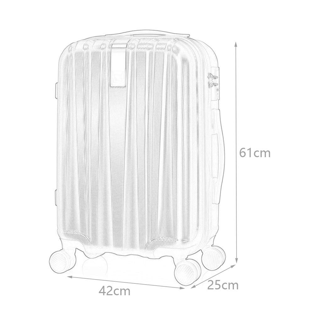Polyester//PC TSA Combination Lock wear-Resistant Scratch-Resistant Snake Scientific partition Dry and Wet Separation Mute Caster Storage Box 2 Colors 4 Sizes ///& YD Luggage Set Trolley case