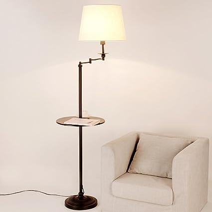 Lámpara de pie Lámparas de Piso Americanas Lámparas de salón ...