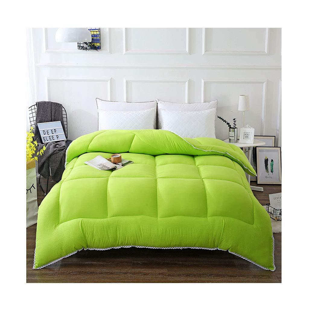 贅沢屋の ファッションシンプルな秋と冬を厚くする個々のダブルソフト暖かいキルトコアベッドルームホステルベッドライニング (色 Gray, : Gray, サイズ サイズ Green さいず : 150×200cm(2.5kg)) B07MPN766F 150×200cm(2.5kg)|Green Green 150×200cm(2.5kg), ホビーショップてづか:7bff520d --- itourtk.ru