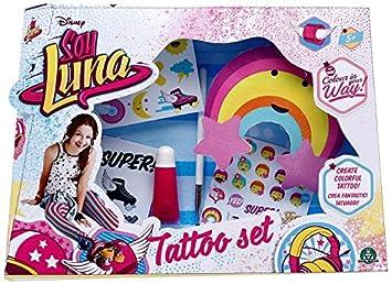 Tortugas Ninja Soy Luna Set De Tatuaje Giochi Preziosi Ylu10001