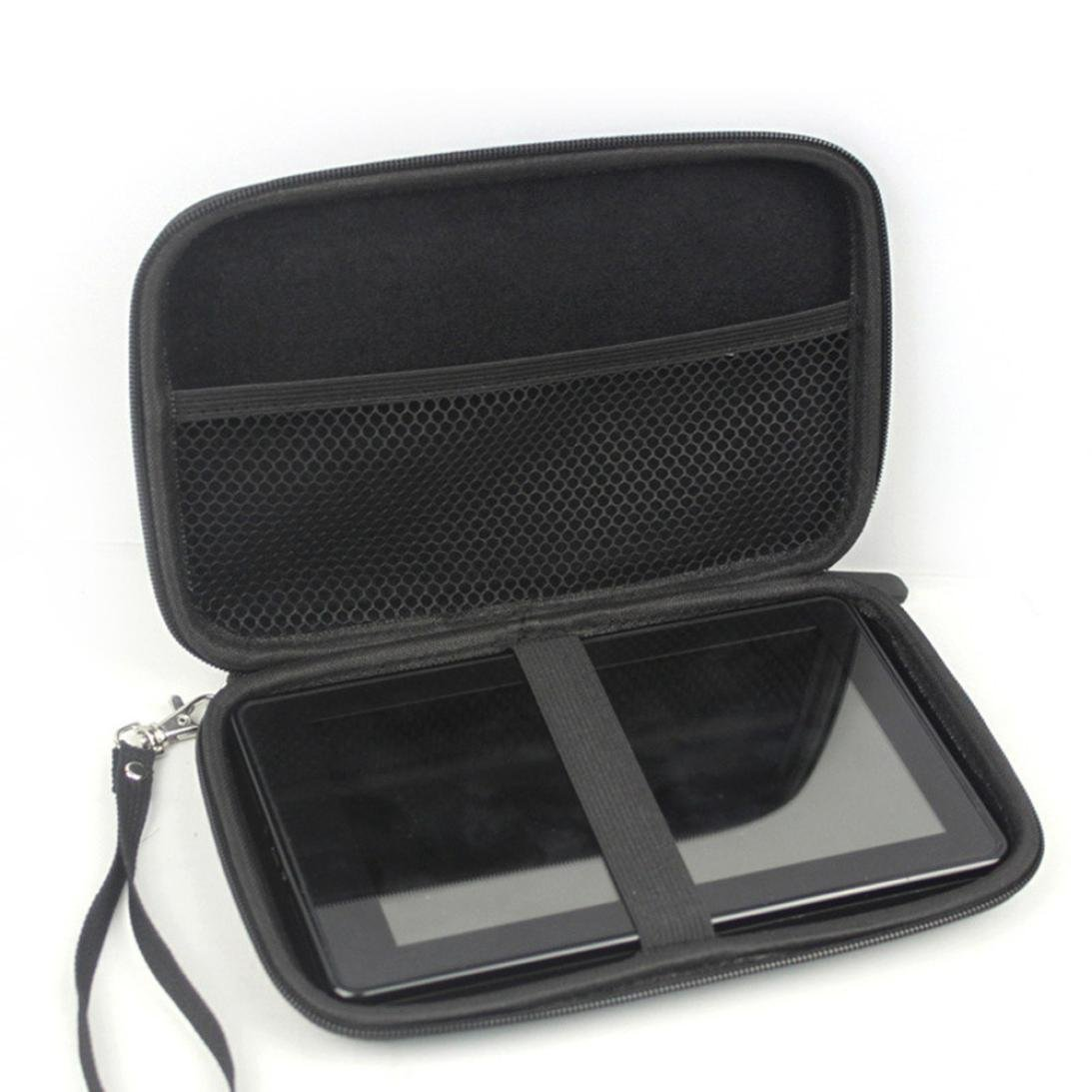 """bestpriceam 2x Portable 7""""Inch GPS Case Hard Shell Travel Carrying Case Bag for 6"""" 7"""" Garmin"""