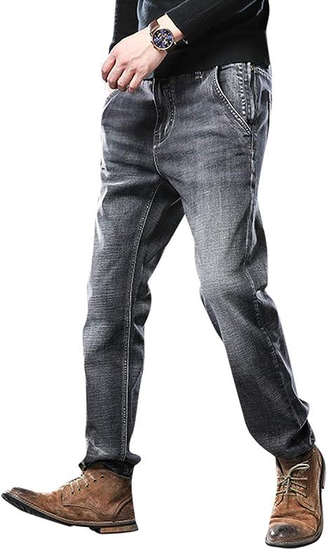 [CEEN]ジーンズ メンズ 大きいサイズ デニムパンツ 黒 ストレッチ 綿 レギュラーフィット