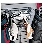 Organized Living Activity Organizer Golf Rack and Basket