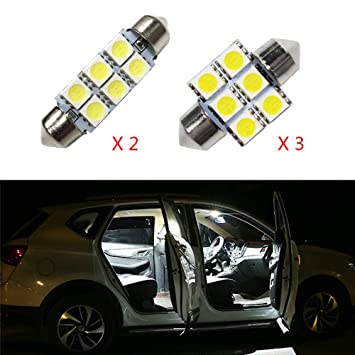 Cobear para Sonata MK8 Super Brillante Fuente de luz LED Interior Lámpara de Coche Bombillas de