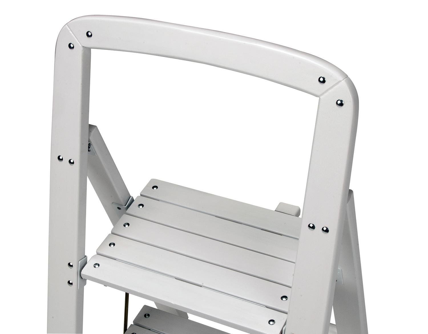 Rockford Series Two Step Wood Step Stool Newlibrarygood Com