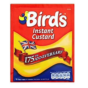 Birds Instant Custard Triple Pack Original Birds English Custard Powder Imported From The UK England The Best Of British Custard Powder Triple Pack
