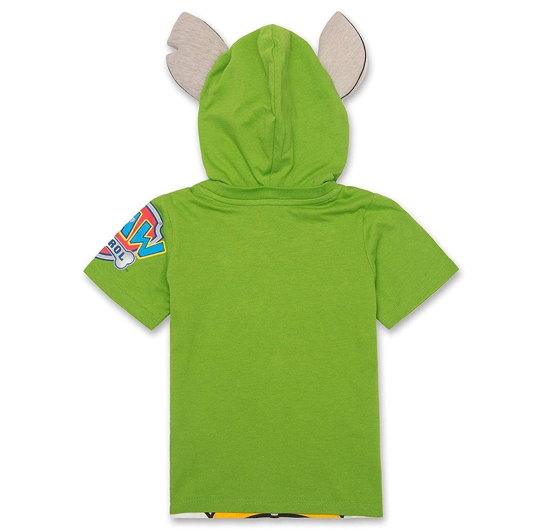 Marshall Zuma Rubble Boys Nickelodeon PAW Patrol Hooded Shirt: Chase Rocky