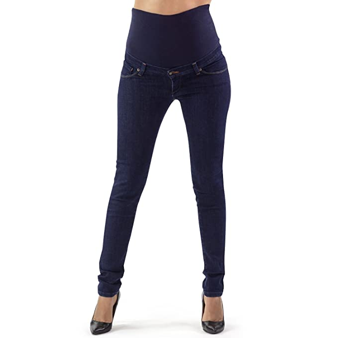 3edf0504f83c2 MAMAJEANS Ischia Basic - Jeans Premaman Slim Fit