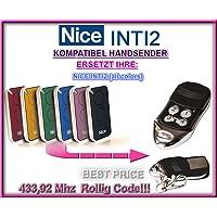 Nice inti2compatible handsender, Repuestos emisor, 433.92MHz Rolling Code.