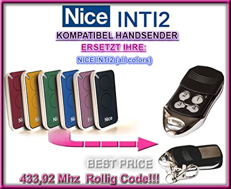 Top Qualit/ät ersatzger/ät!!! 433.92Mhz rolling code ersatz sender Homentry HE4331 kompatibel handsender