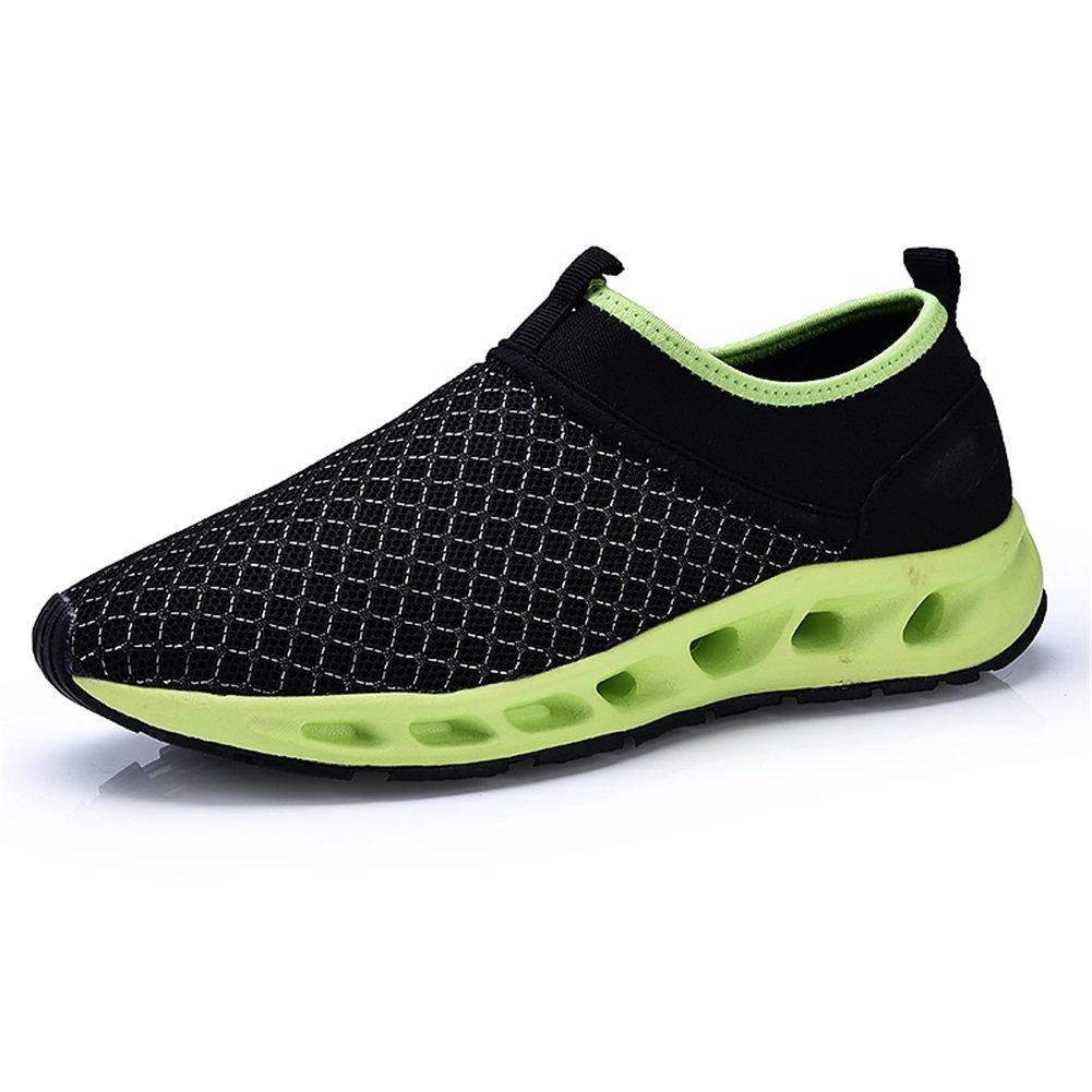 Zapatos Zapatos Zapatos de agua Hombre respirable Zapatos de malla Zapatos de secado rápido Descalzo Nadar, Caminar, Yoga, Lago, Playa, Jardín, Parque, Conducir, Pasear en bote Water Zapatos (Color : Do, tamaño : 40) 1e2185