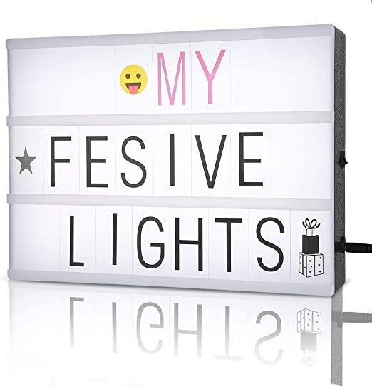 A4 cinematic light box,caja de luz cinematográfica / personalizar ...