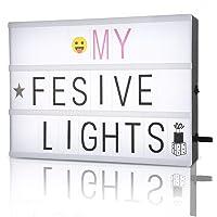 FSC Caja de luz con Letra