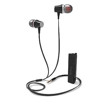 SGIN Auriculares Bluetooth, Inalámbricos Bluetooth V4.2 Deportivos In-ear a prueba de sudor Auriculares, cancelación de ruido con micrófono Estéreo(Negro): ...
