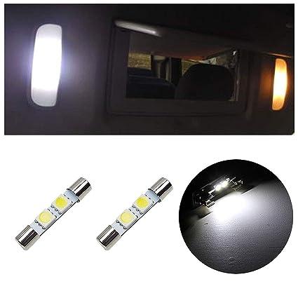 Amazon.com  LEDpartsNow 29mm LED Light Bulbs for Vanity Mirror Sun Visors 7b54f7a74ab