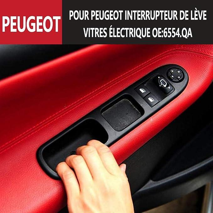 Vorne Links Drive 207 Schalter Für Fensterheber Elektrisch 6554 Qa Auto