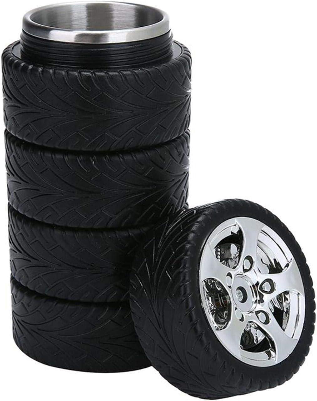 XMYNB Tazas térmicas Taza De Acero Inoxidable Taza De Acero Inoxidable Taza Neumático Taza De Neumático Neumático De Neumático Taza De Neumático,Una