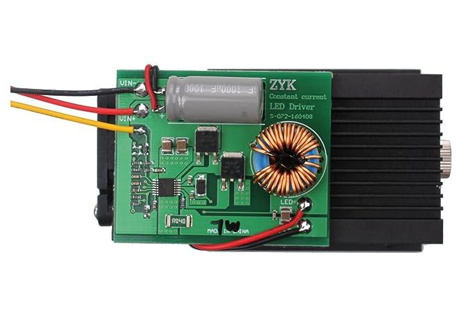 SUNWIN High Power 5W 5000mW Blue Laser Module 450nm For DIY Laser Engraving  Cutting