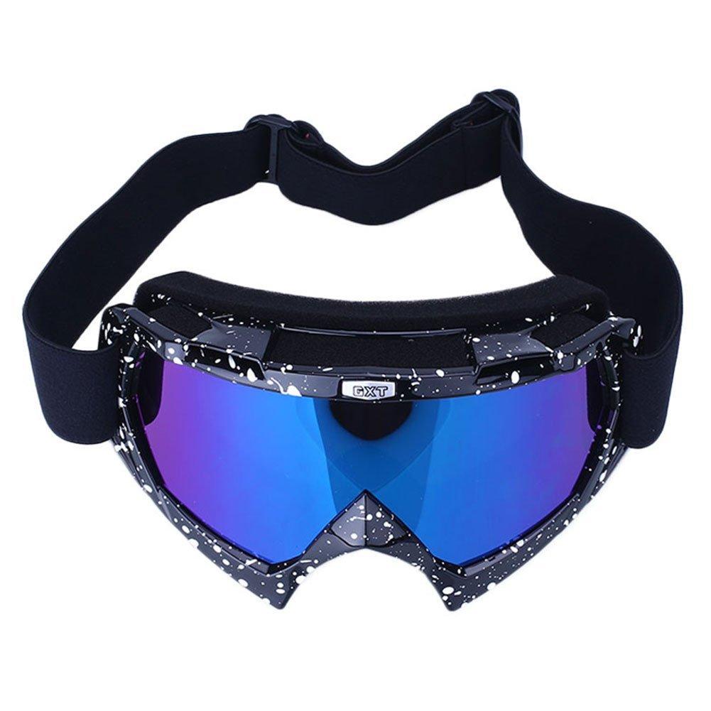 forfar Beautyrain ProfessionalSki Goggles Sci Snowboard Goggles doppia lente Anti UV sci Outdoor Sports Occhiali protettivi Occhiali da sole bianca