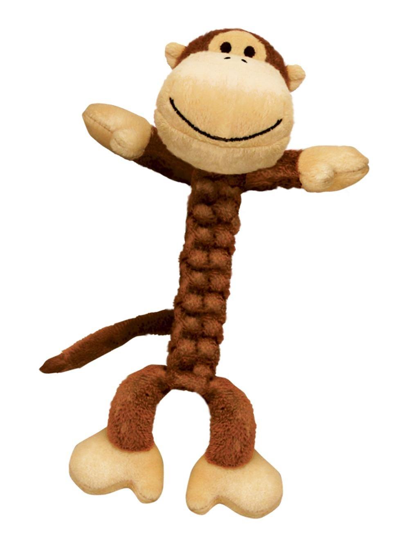 Kong Braidz Hundespielzeug Affe BS21