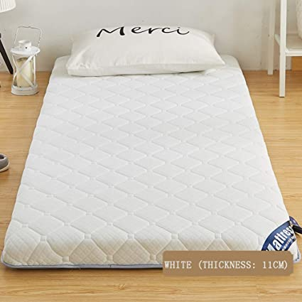 Amazon.com - Lovehouse Folding Sleep Mattress Topper, Thick Japanese ...