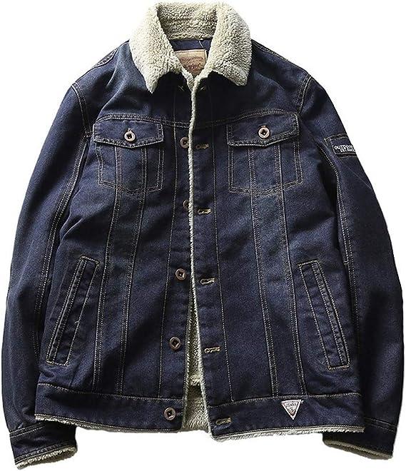 コート、ジャケット、メンズジャケット、特大の綿の服、小さなカシミアデニムジャケット、デニムジャケット、男の子の大人の贈り物