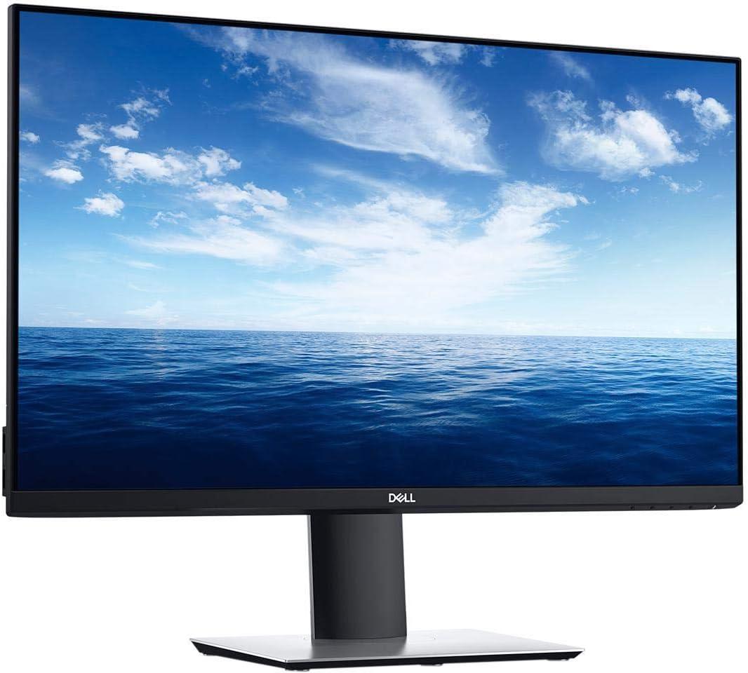 DELL 20 inches P2018H WIDE SCREEN 1600X900 VGA DISPLAY PORT (DP) HDMI LCD LED MONITOR (Renewed)
