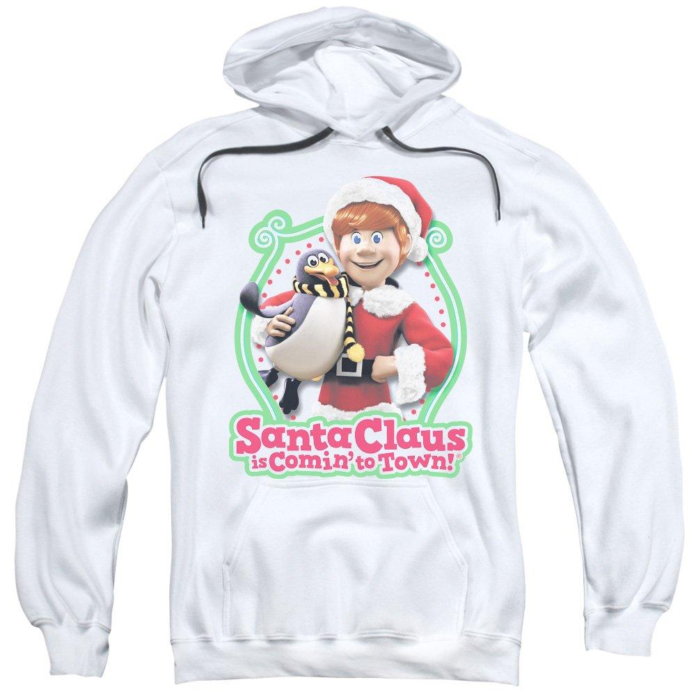 2Bhip weihnachtsmann ist comin zur stadtweihnachtsfilm kris & topper kapuzen-sweatshirt für Herren