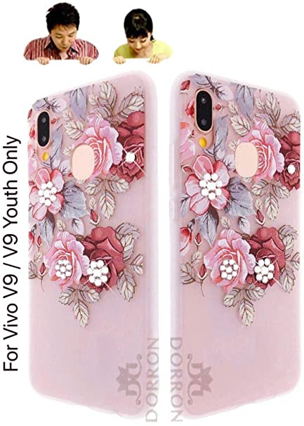 new style cf706 33a28 DORRON 3D Floral Print Designer Soft Back Case Cover: Amazon.in ...