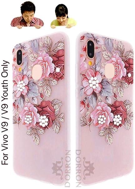 new style 58f46 97500 DORRON 3D Floral Print Designer Soft Back Case Cover: Amazon.in ...