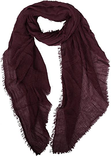 NEW STYLE CRINKLE Hijab Maxi Scarf Headscarf CRIMP Pleated
